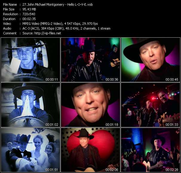 John Michael Montgomery clips musicaux vob