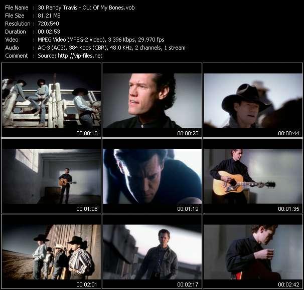 Randy Travis clips musicaux vob
