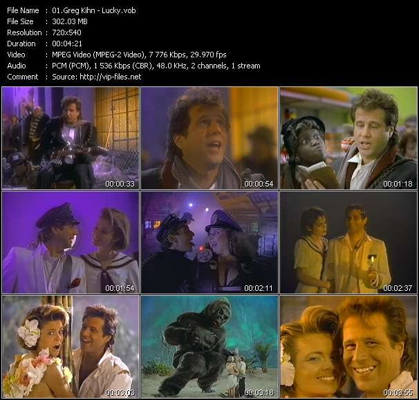 Greg Kihn video vob