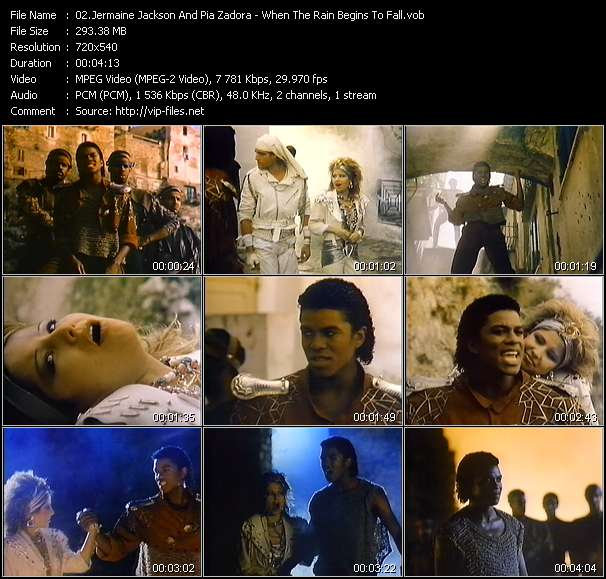 Jermaine Jackson And Pia Zadora video vob
