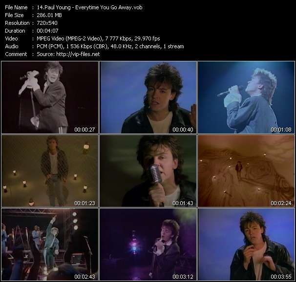 Paul Young video vob