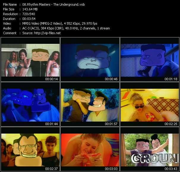 Screenshot of Music Video Rhythm Masters - The Underground