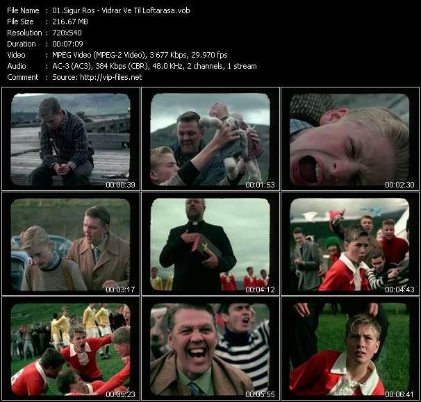 Screenshot of Music Video Sigur Ros - Vidrar Ve Til Loftarasa