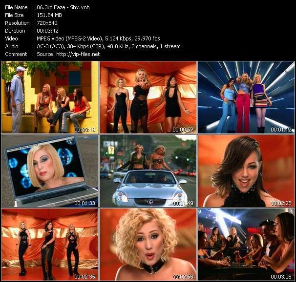 Screenshot of Music Video 3rd Faze - Shy