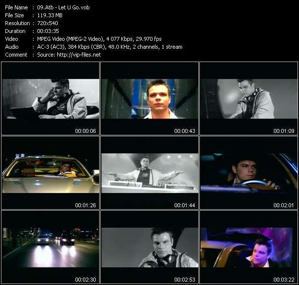 Screenshot of Music Video Atb - Let U Go