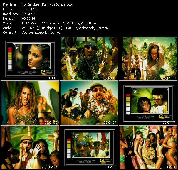 Caribbean Funk video vob