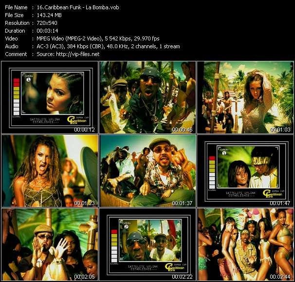 Caribbean Funk clips musicaux vob