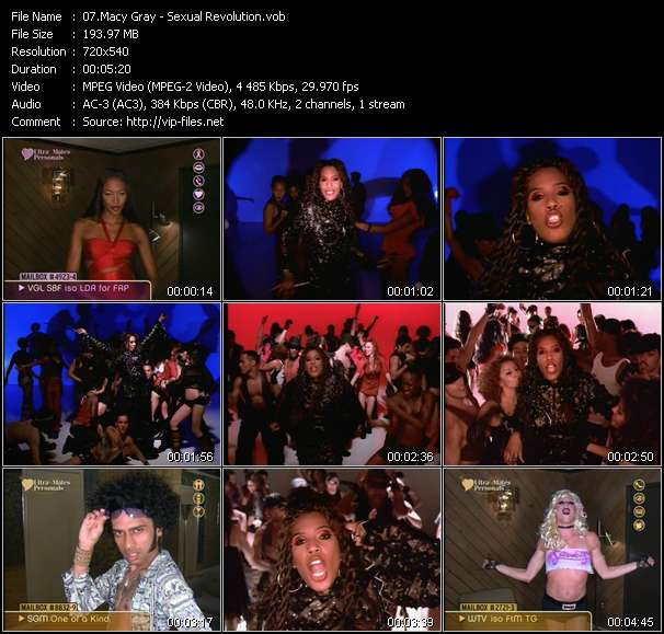 Macy Gray video vob