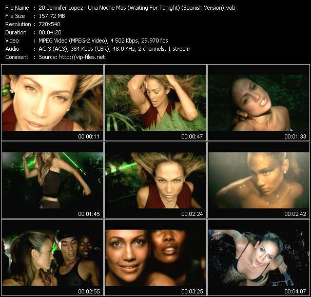 Jennifer Lopez video vob