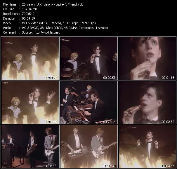 Screenshot of Music Video Vision (U.K. Vision) - Lucifer's Friend