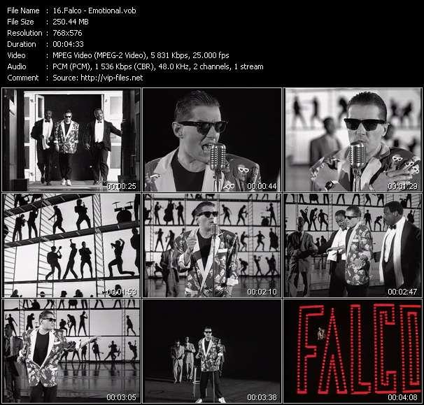 Falco clips musicaux vob
