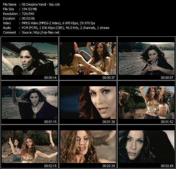 Despina Vandi video vob