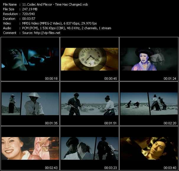 Codec And Flexor video vob