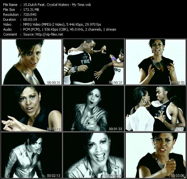 Dutch Feat. Crystal Waters video vob