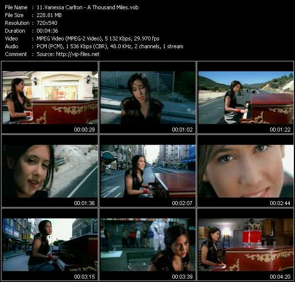 Vanessa Carlton video vob