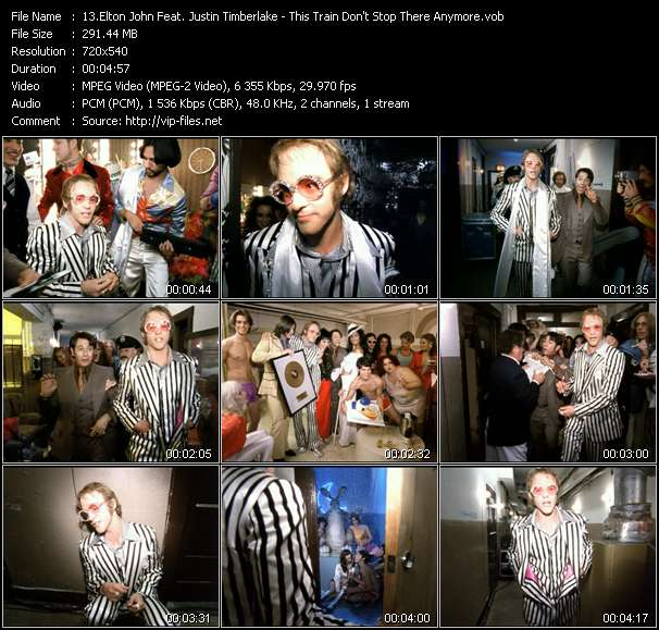 Elton John Feat. Justin Timberlake video vob