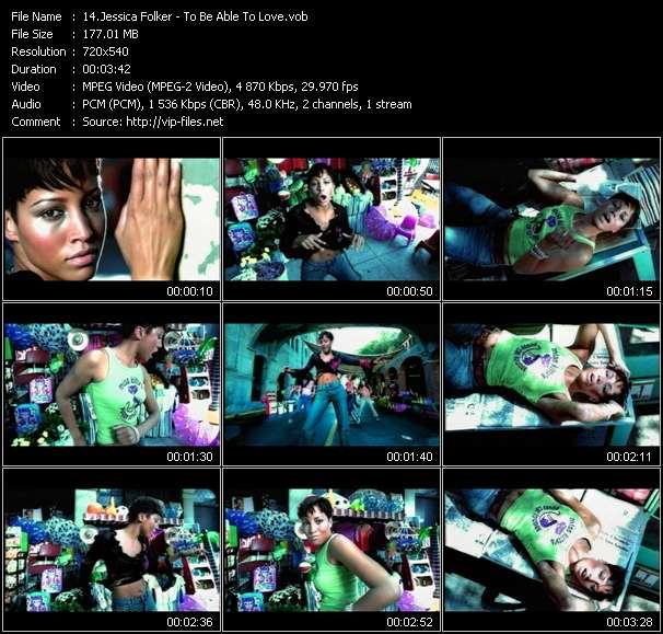 Jessica Folker video vob