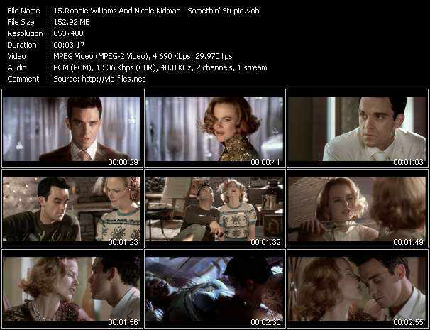 Robbie Williams And Nicole Kidman video vob
