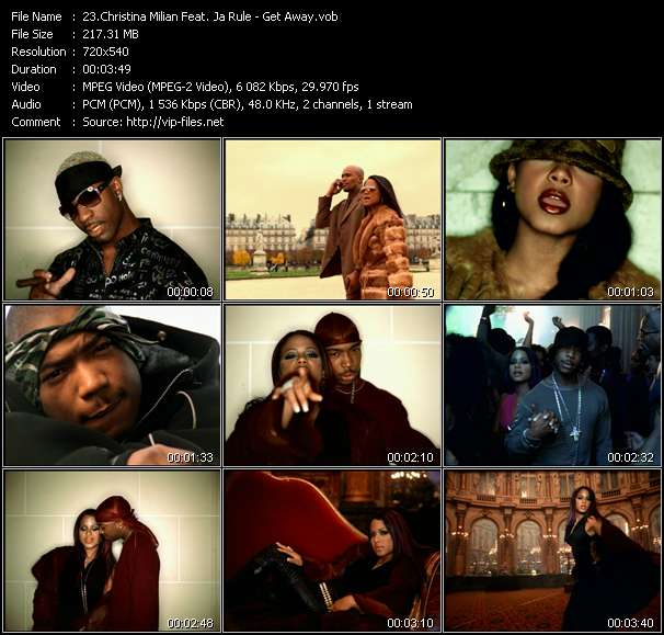 Christina Milian Feat. Ja Rule video vob