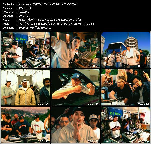 Dilated Peoples video vob