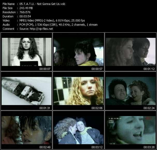 T.A.T.U. video vob