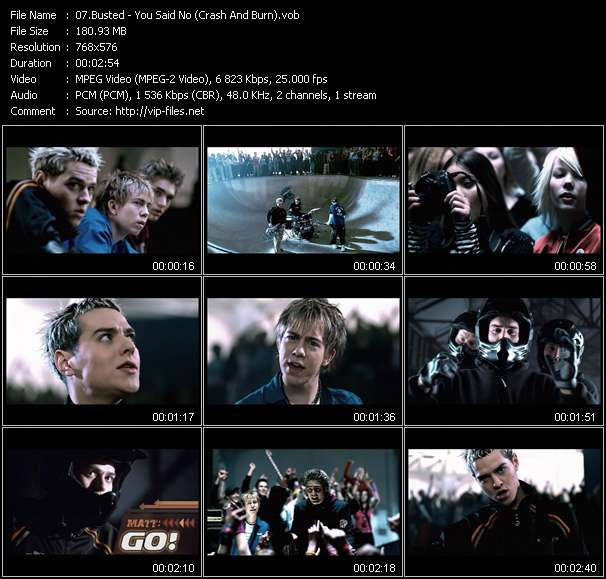 Busted video vob
