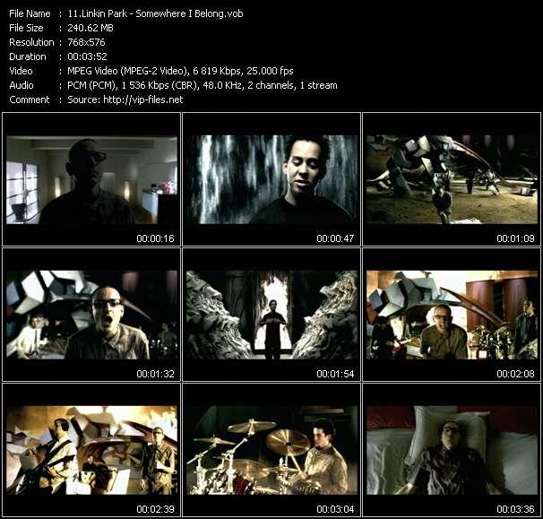 Linkin Park video vob