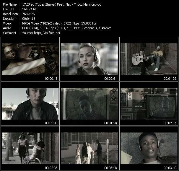 2Pac (Tupac Shakur) Feat. Nas video vob