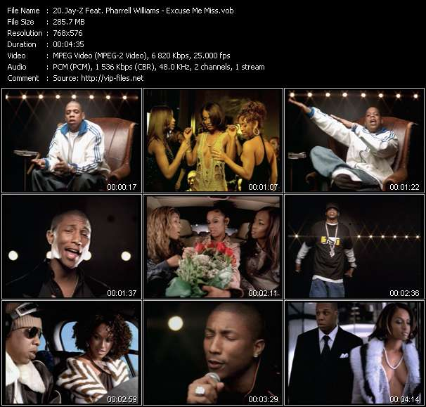 Jay-Z Feat. Pharrell Williams video vob