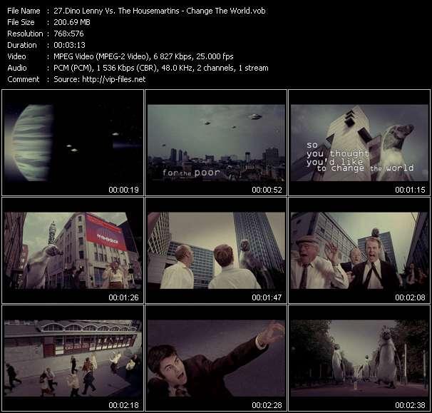 Dino Lenny Vs. The Housemartins video vob
