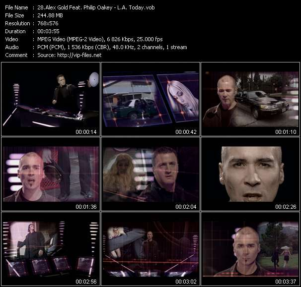 Alex Gold Feat. Philip Oakey video vob