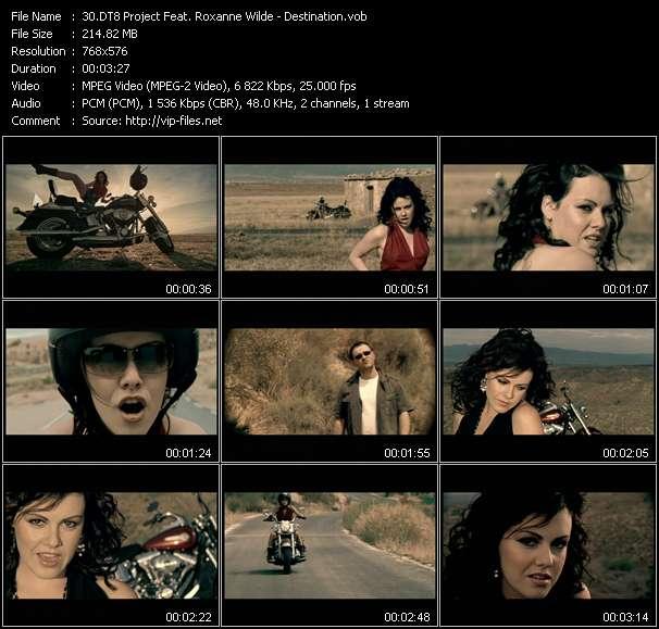 DT8 Project Feat. Roxanne Wilde video vob