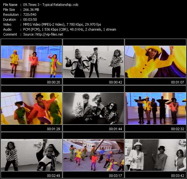 Screenshot of Music Video Times 3 - Typical Relationship