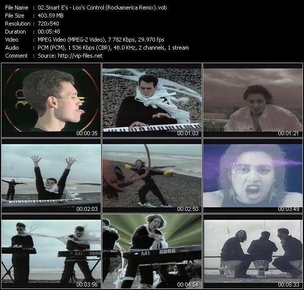 Screenshot of Music Video Smart E's - Loo's Control (Rockamerica Remix)