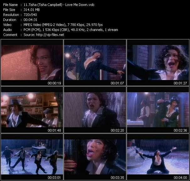 Screenshot of Music Video Tisha (Tisha Campbell) - Love Me Down