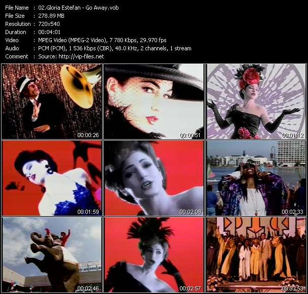 Screenshot of Music Video Gloria Estefan - Go Away