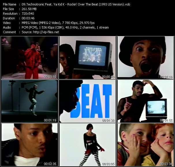 Screenshot of Music Video Technotronic Feat. Ya Kid K - Rockin' Over The Beat (1993 US Version)