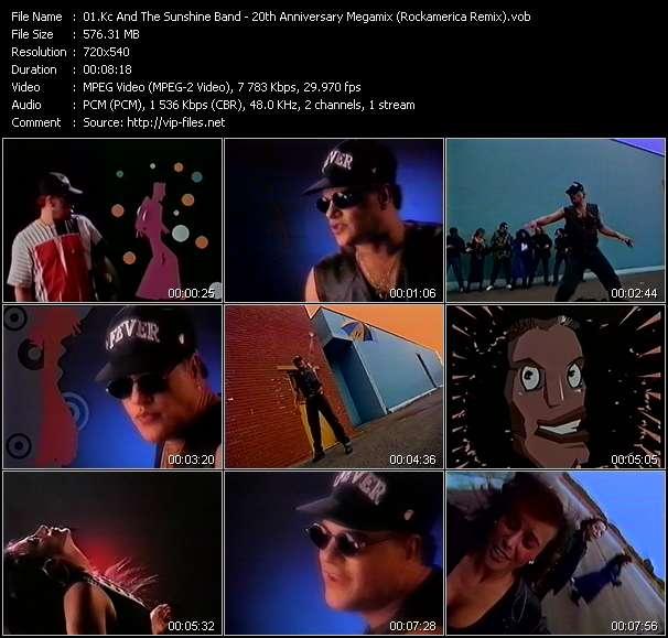 Screenshot of Music Video Kc And The Sunshine Band - 20th Anniversary Megamix (Rockamerica Remix)
