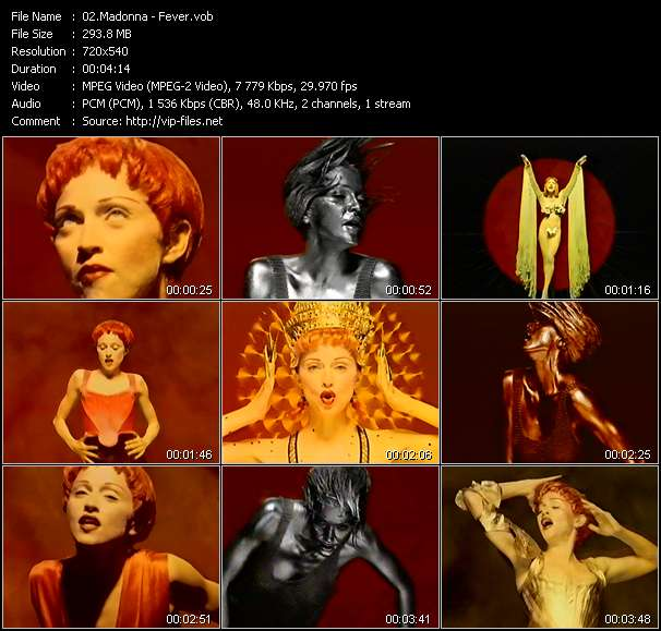 Madonna видеоклип vob