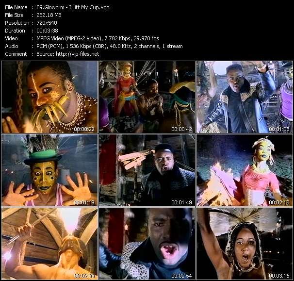 Screenshot of Music Video Gloworm - I Lift My Cup