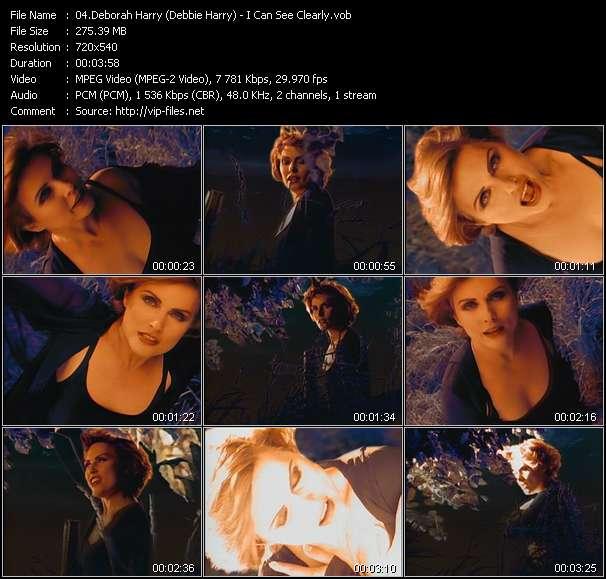 Screenshot of Music Video Deborah Harry (Debbie Harry) - I Can See Clearly