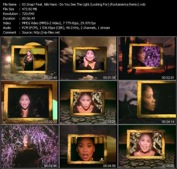 Snap! Feat. Niki Haris video vob