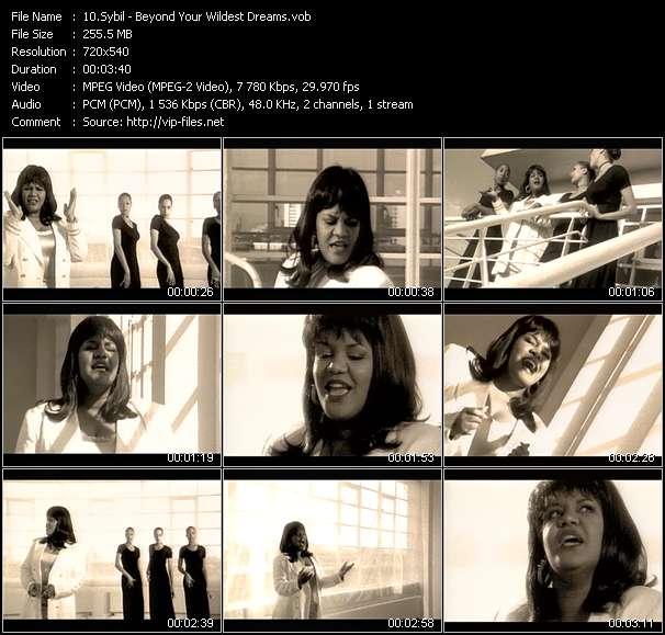 Screenshot of Music Video Sybil - Beyond Your Wildest Dreams