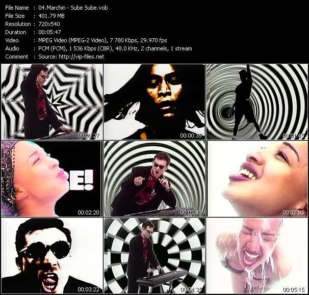 Screenshot of Music Video Marchin - Sube Sube