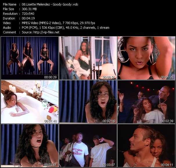 Screenshot of Music Video Lisette Melendez - Goody Goody