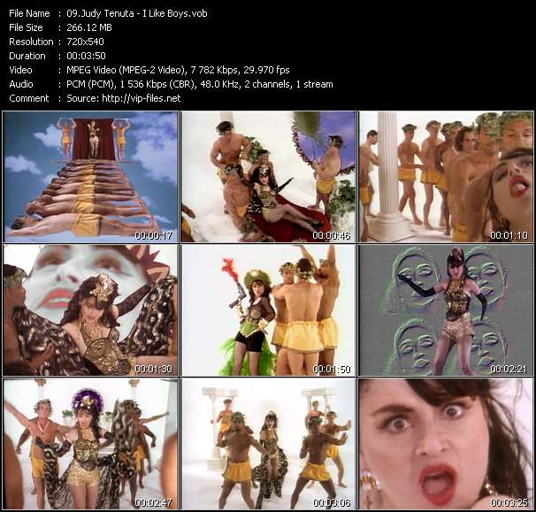 Screenshot of Music Video Judy Tenuta - I Like Boys