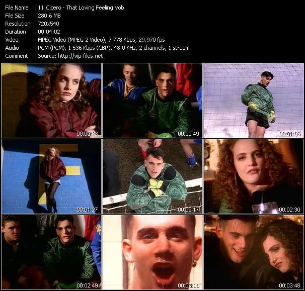 Screenshot of Music Video Cicero - That Loving Feeling