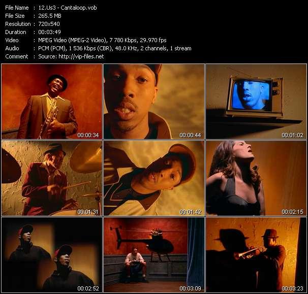 Screenshot of Music Video Us3 - Cantaloop