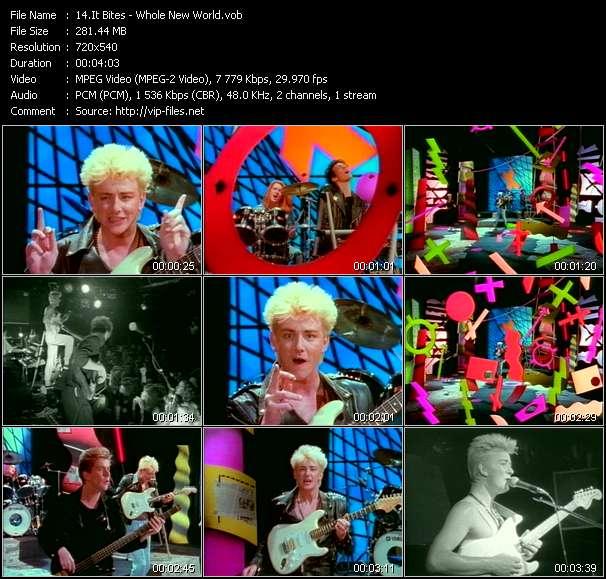 Screenshot of Music Video It Bites - Whole New World