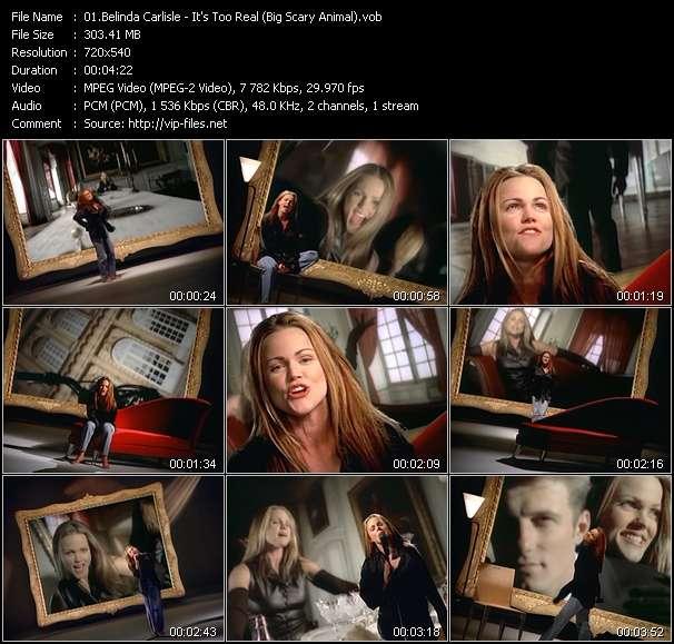 Belinda Carlisle video vob